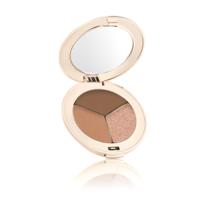jane iredale PurePressed Eye Shadow Triple - Triple Cognac