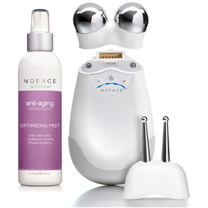 NuFACE Trinity Facial Trainer Kit with ELE Attachment and Optimizing Mist 4oz