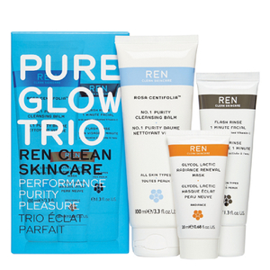 REN Pure Glow Trio Kit (Worth $61)