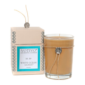 Votivo Aromatic Candle White Ocean Sands