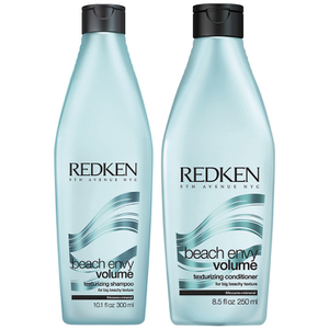 Redken Beach Envy Volume Texturizing Shampoo (300 ml) og Beach Envy Volume Texturizing Conditioner (250m l)