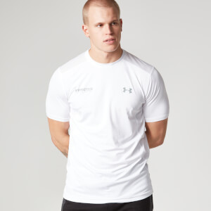 Under Armour Herren Tech T-Shirt - Weiß/Schwarz