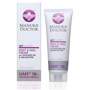 Manuka Doctor ApiNourish Foot & Heel Cream 75 ml