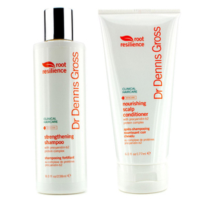 Dr. Dennis Gross Root Resilience Strengthening Shampoo and Conditioner Duo