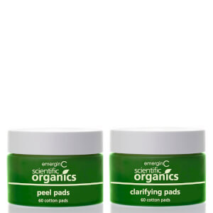 EmerginC Scientific Organics At-home Facial Peel and Clarifying Kit (60 pads)