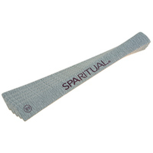 SpaRitual Zebra Board Eco-Nail File 5pc 100/180 Grit