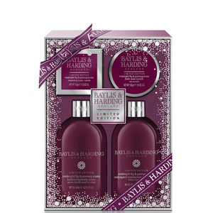 Baylis & Harding Mosaic Midnight Fig & Pomegranate Benefit Set