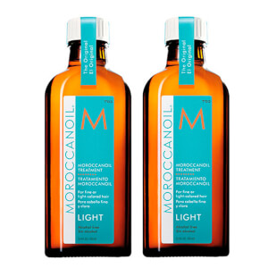 2x Moroccanoil Light Oil Treatment 100ml