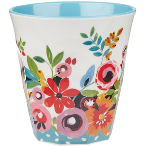 Collier Campbell Flowerdrop Melamine Tumbler 200ml