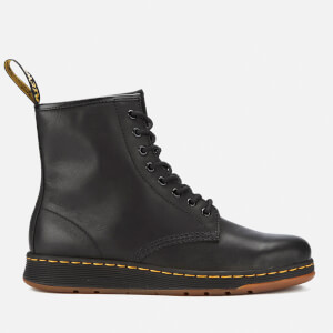 Dr. Martens Newton Lite Leather 8-Eye Boots - Black