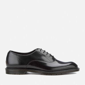 Dr. Martens Men's Henley Fawkes Polished Smooth Oxford Shoes - Black