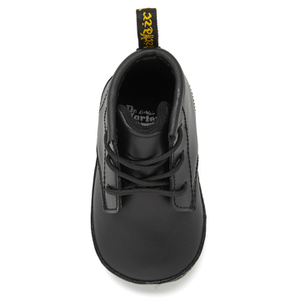 Dr. Martens Babies Auburn Kid Lamper Leather Boots - Black: Image 3