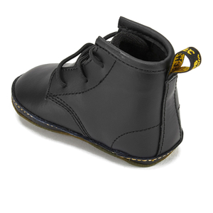 Dr. Martens Babies Auburn Kid Lamper Leather Boots - Black: Image 4