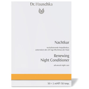Dr. Hauschka Renewing Night Conditioner - 50 Ampoules