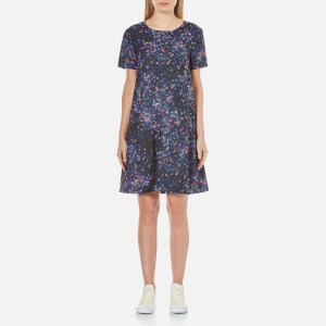 Selected Femme Women's Nisma Short Sleeve Dress - Aop Print