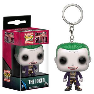 Suicide Squad Joker Pocket Funko Pop! Keychain