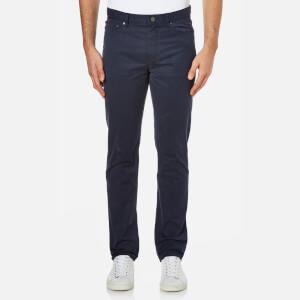 Michael Kors Men's Slim 5 Pocket Twill Jeans - Midnight