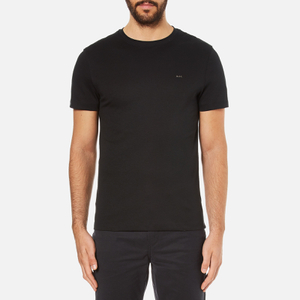 Michael Kors Men's Liquid Jersey Crew Neck Short Sleeve T-Shirt - Black