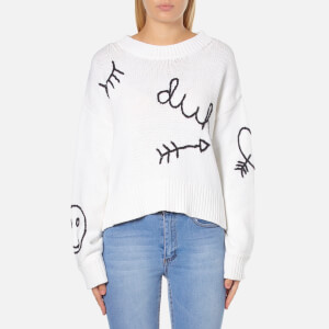 Wildfox Women's Yr Dreams Duh Jumper - White