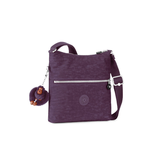 Kipling Women's Zamor Cross Body Bag - Plum Purple