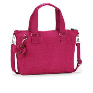 Kipling Women's Amiel Medium Handbag - Berry