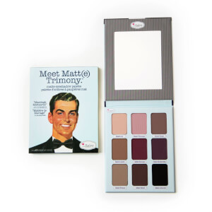 Paleta de sombra de ojos Meet Matt(e) Trimony de The Balm