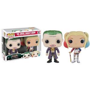 Suicide Squad Metallic Joker & Harley Quinn 3 Inch Pop! Vinyl Figure (2 Pack)