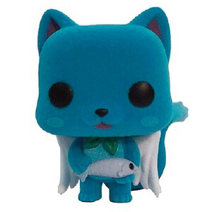 Fairy Tail POP! Animation Vinyl Figur Happy Flocked Limited