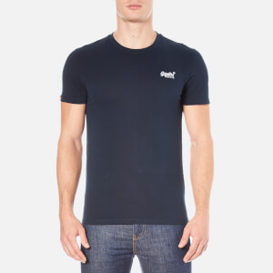 Superdry Men's Orange Label Vintage Embroidery T-Shirt - Eclipse Navy