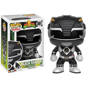 Figurine Funko Pop! Power Rangers : Mighty Morphin Ranger Noir