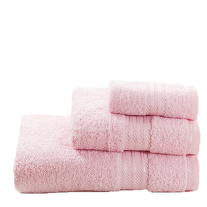 Restmor 100% Egyptian Cotton 3 Piece Towel Bale - Pink