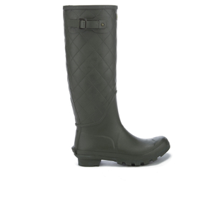 Barbour Women's Setter Quilted Wellies - Olive