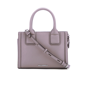 Karl Lagerfeld Women's K/Klassik Mini Tote Bag - Rosy Brown