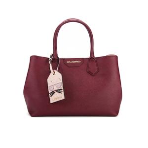 Karl Lagerfeld Women's K/Lady Shopper Bag - Bordeaux