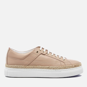 HUGO Women's Connie R Espadrille Trainers - Light Beige