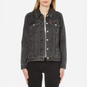 Levi's Women's Boyfriend Trucker Jacket - Mountain Black
