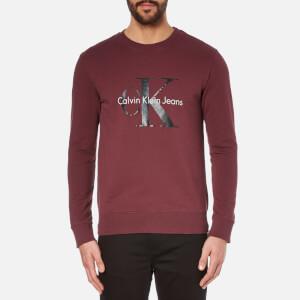 Calvin Klein Men's Crew Neck Sweatshirt - Port Royale