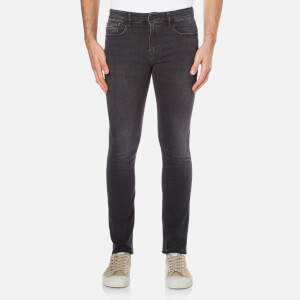 Calvin Klein Men's Super Skinny 5 Pocket Jeans - Elastic Black
