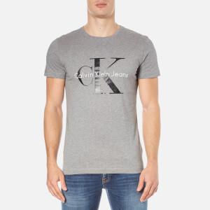 Calvin Klein Men's Re-Issue Crew Neck T-Shirt - Mid Grey Heather