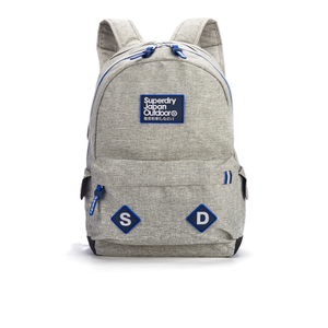 Superdry Men's Trinity Montana Rucksack - Light Grey Marl