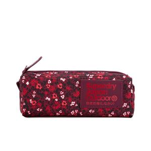 Superdry Women's Scat Ditsy Montana Pencil Case - Berry