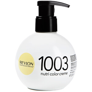 Revlon Professional Nutri Color Creme 1003 Pale Gold Оттеночный крем 250мл