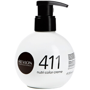 Revlon Professional Nutri Color Creme 411 Brown Оттеночный крем 250мл