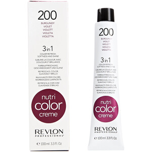 Revlon Professional Nutri Color Creme 200 Burgundy Оттеночный крем 100мл