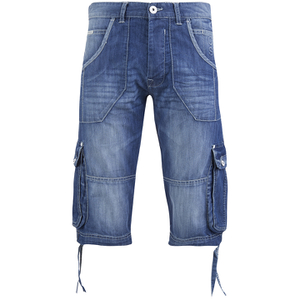 Crosshatch Men's Kanaster Denim Shorts - Light Wash