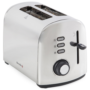 Breville VTT590 2 Slice Toaster - Polished Stainless Steel