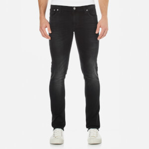 Nudie Jeans Men's Long John Skinny Jeans - Black Coyote