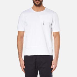 Folk Men's Pocket and Panel T-Shirt - White