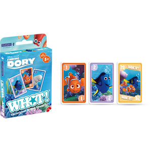 Top Card Tuck Box - Finding Dory Whot!