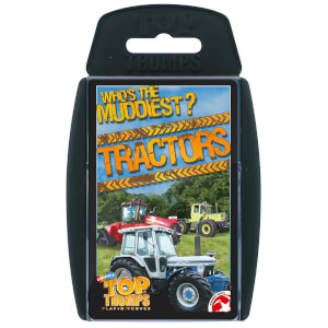 Top Trumps Card Game - Tractors Edition